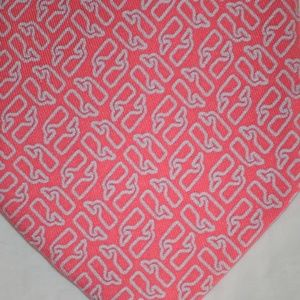 Vineyard Vines Pink Tie with Gray Whale Design